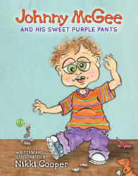 Johnny Mcgee and His Sweet Purple Pants book cover