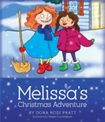 Melissa's Christmas Adventure book cover