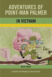 Adventures of Point-Man Palmer in Vietnam book cover