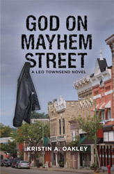 God on Mayhem Street book title