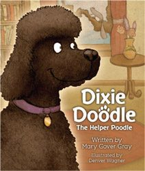 Dixie Doodle the Helper Poodle book cover
