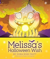 Melissa's Halloween Wish book cover